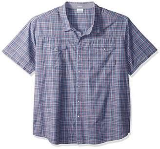 Columbia Men's Big and Tall Leadville Ridge Short Sleeve Shirt