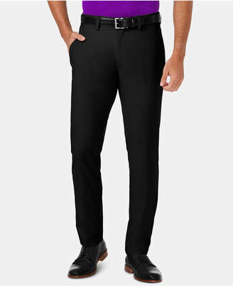 Haggar Men Cool 18 Pro Slim-Fit 4-Way Stretch Moisture-Wicking Non-Iron Dress Pants