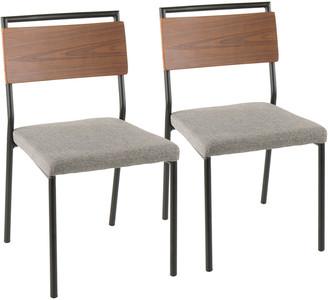 Lumisource Set Of 2 Fiji Dining Chairs