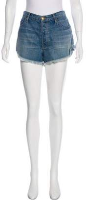 The Great Mid-rise Denim Shorts