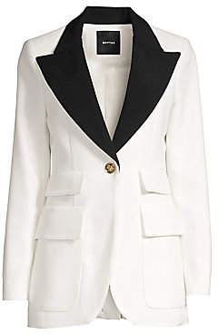 Smythe Women's Color Block Blazer