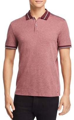 Michael Kors Striped-Accented Polo Shirt
