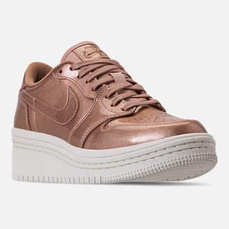 Nike Women's Air Jordan Retro 1 Low Lifted Casual Shoes