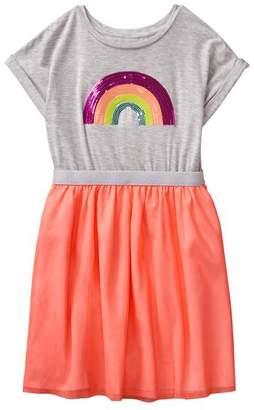 Gymboree Rainbow Sequin Dress