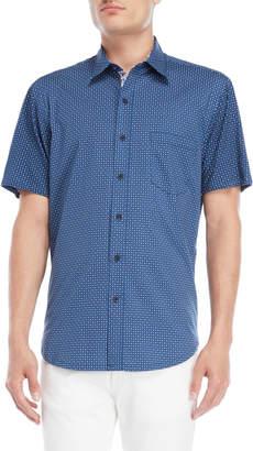 English Laundry Con.Struct Hybrid Dod Short Sleeve Shirt