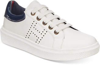 Tommy Hilfiger (トミー ヒルフィガー) - Tommy Hilfiger Glam Baseline Sneakers, Little Boys & Big Boys