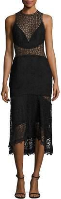 Nicholas Women's Guipure Lace Midi Dress