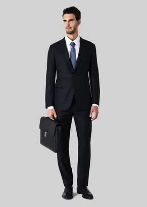 Giorgio Armani Soho Wool And Cashmere Suit