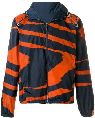 Missoni printed reversible windbreaker jacket
