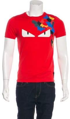 Fendi Monster Graphic T-Shirt