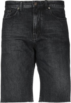 Saint Laurent Denim bermudas