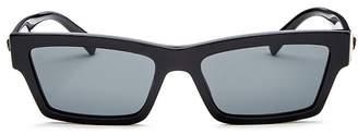 Versace Men's Square Sunglasses, 55mm