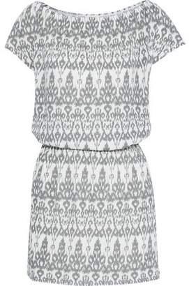 de589bc5296 COM · Soft Joie Danyale Printed Cotton-Blend Jersey Mini Dress