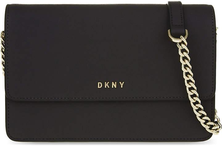 Dkny Bryant Park leather small cross-body bag