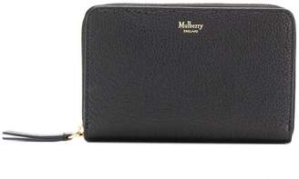 Mulberry zipped wallet