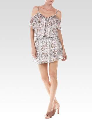 Olympia Dress - Cream Aztec Paisley Print $298 thestylecure.com