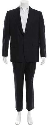 Dries Van Noten Striped Wool Suit