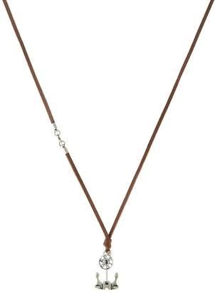 Necklace silvercoloured