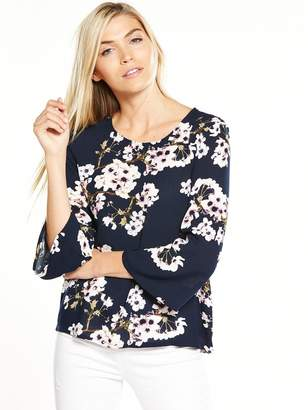 Vero Moda Occasion Wide Three-quarter Sleeve Top