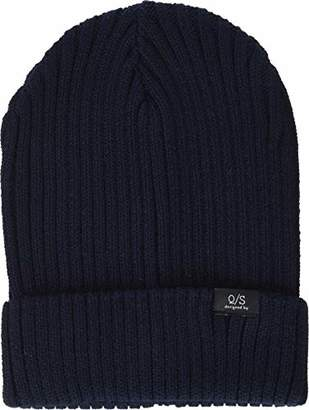 Q/S designed by Men's 40.811.92.2816 Beanie,One (Size: 1)