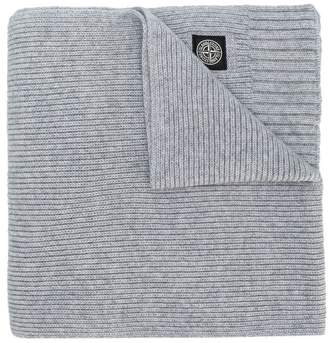 Stone Island Junior knitted scarf