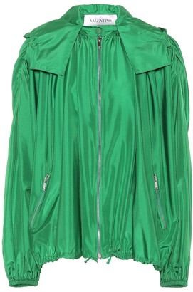 Valentino Silk Hooded jacket