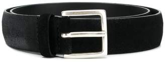 Orciani lightly distressed medium-width belt