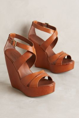 Kork-Ease Gracen Wedges Brown 7. Wedges