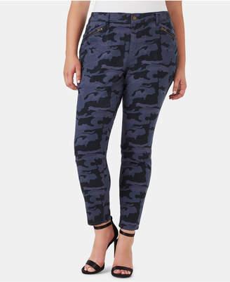 008355351a4 William Rast Plus Size Camo-Print Cargo Pants