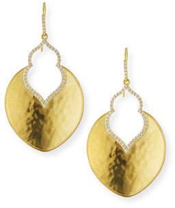 Amrapali Legend Kalika Lantern Earrings with Diamonds in 18K Gold