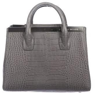 Thomas Wylde Embossed Leather Crossbody Bag