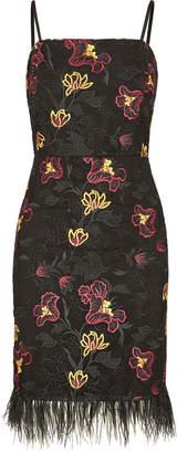 Sam Edelman Chintz Lace Mesh Dress