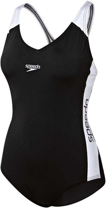 Speedo Womens Splice Swimsuit