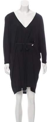 Alexander McQueen Oversize Mini Dress