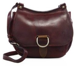 Frye Amy Leather Crossbody Bag $338 thestylecure.com