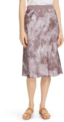 ATM Anthony Thomas Melillo Tie Dye Silk Skirt