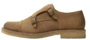 Mango Man MANGO MAN Suede monk-strap shoes