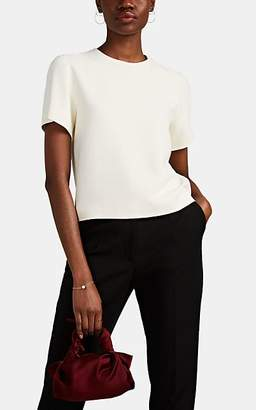 The Row Women's Eve Fluid Crepe Top - Ivory