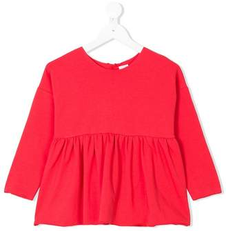 La Bottega Di Giorgia peplum blouse
