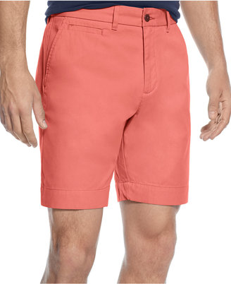 Tommy Hilfiger Custom-Fit Chino Shorts $44.98 thestylecure.com
