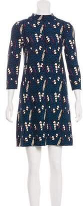 Issa Abstract Print Mini Dress