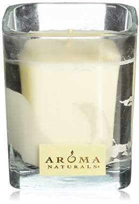 Aroma Naturals Wish Holiday Square Glass Soy Candle
