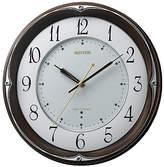[リズム] 電波掛時計(8MY459HG06)
