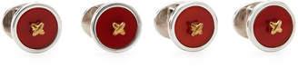 Jan Leslie Four-Piece Classic Button Stud Set
