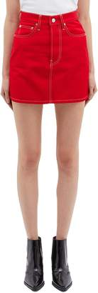 Helmut Lang 'Femme Hi' denim skirt