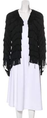 Gryphon Silk Fringe Jacket