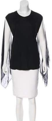 Jean Paul Gaultier Semi-Sheer Sleeveless Top w/ Tags