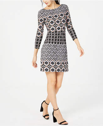 Vince Camuto Printed Shift Dress