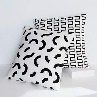 west elm Dusen Dusen Pillow Cover - Curves