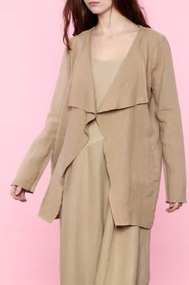 BEIGE Scarborough Fair Linen Jacket